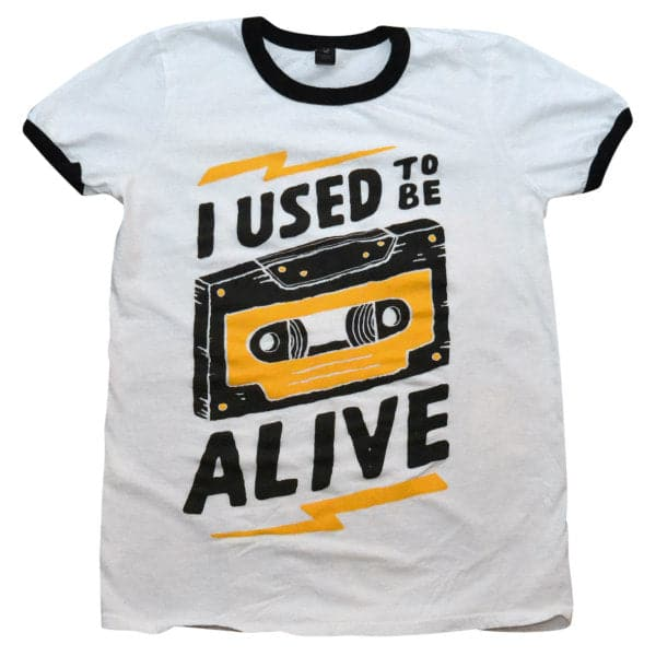 'Used To Be Alive' Ringer Shirt