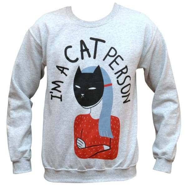 'Cat Person' Sweater
