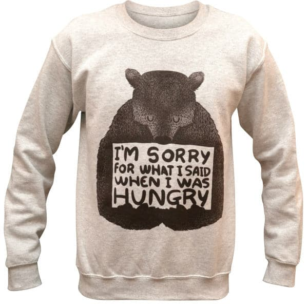 'When I Was Hungry' Sweater