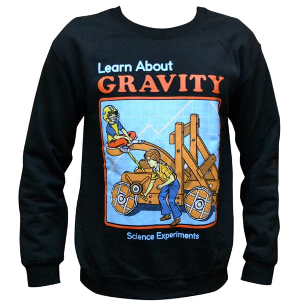 'Learn About Gravity' Sweater