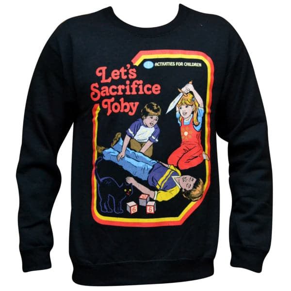 'Let's Sacrifice Toby' Sweater