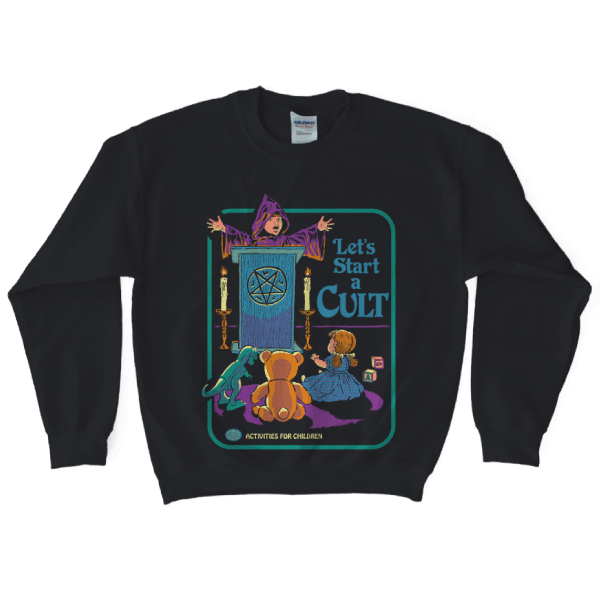 'Let's Start a Cult' Sweater
