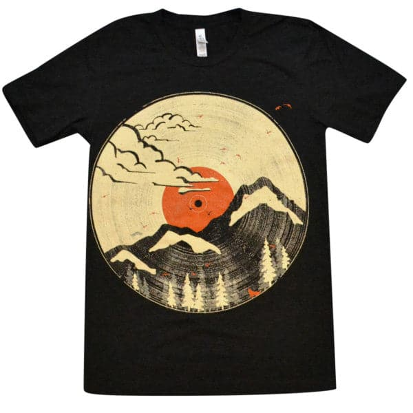 'Mountain LP' Shirt