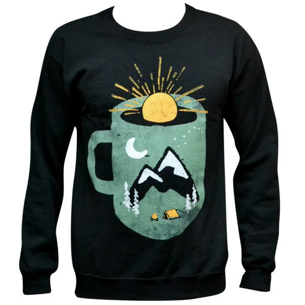 'Mountain Morning Wake Up' Sweater