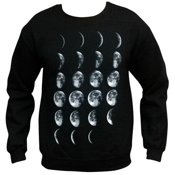 'Phases of the Moon' Sweater