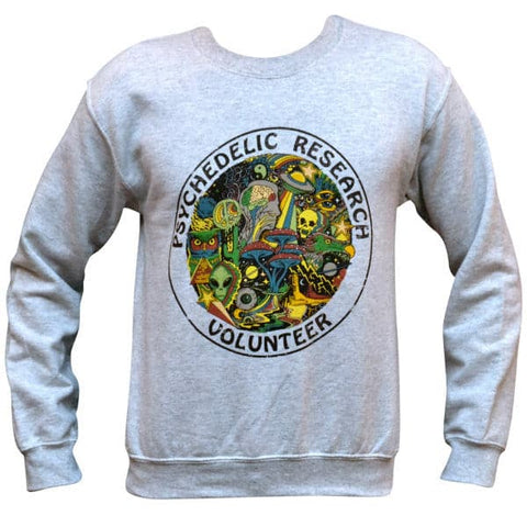 'Psychedelic Research Volunteer' Sweater