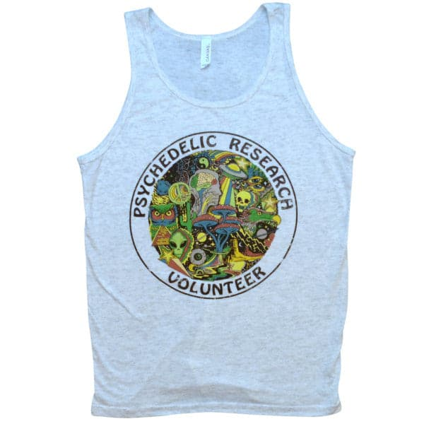 'Psychedelic Research Volunteer' Tank Top