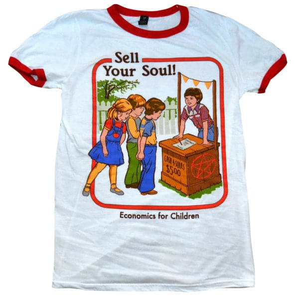 'Sell Your Soul' Ringer Shirt