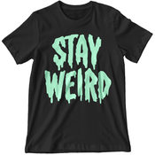 'Stay Weird' Glow in the Dark Shirt