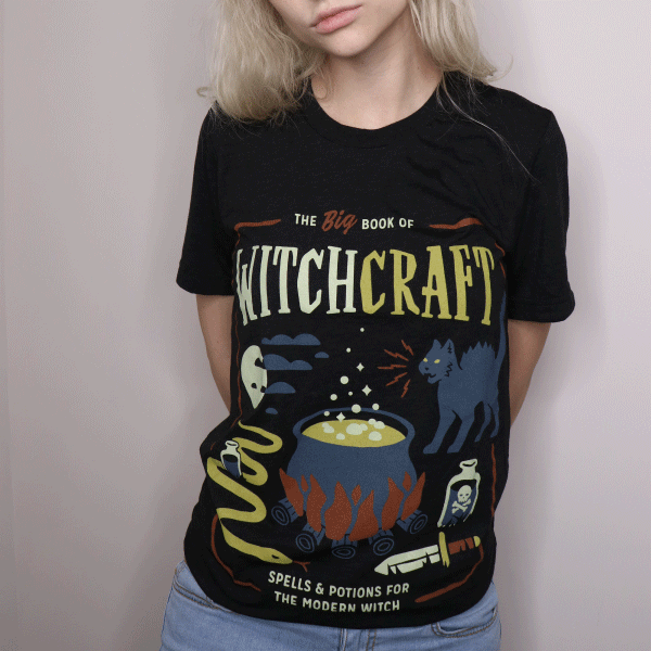 'Book of Witchcraft' Shirt