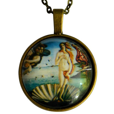 The Birth of Venus Necklace