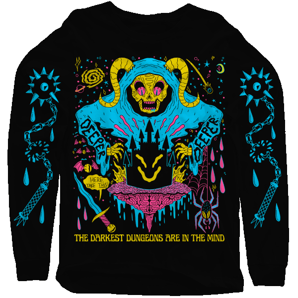 'Dungeon Minded' Sweater