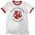 'Idle Hands' Ringer Shirt