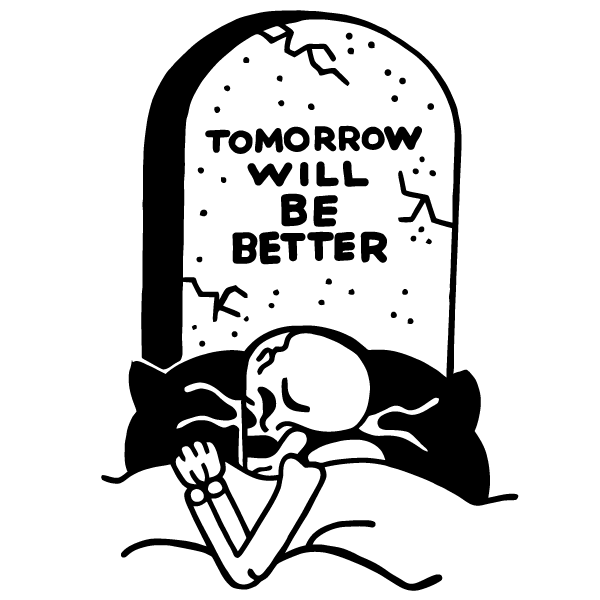 'Tomorrow Will Be Better' Ringer Shirt
