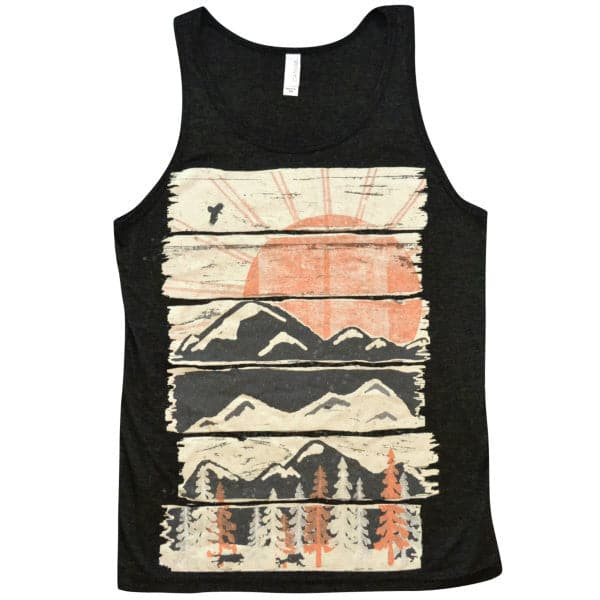 'Winter Pursuits' Tank Top