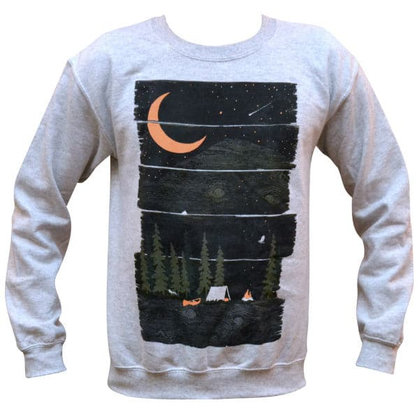 'Wish I Was Camping' Sweater