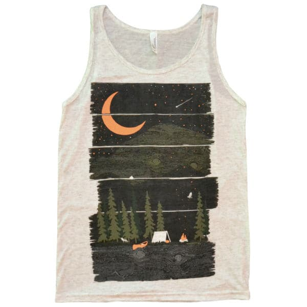 'Wish I Was Camping' Tank Top