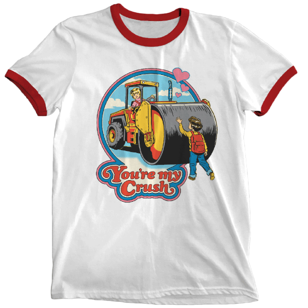 'You're My Crush' Ringer Shirt