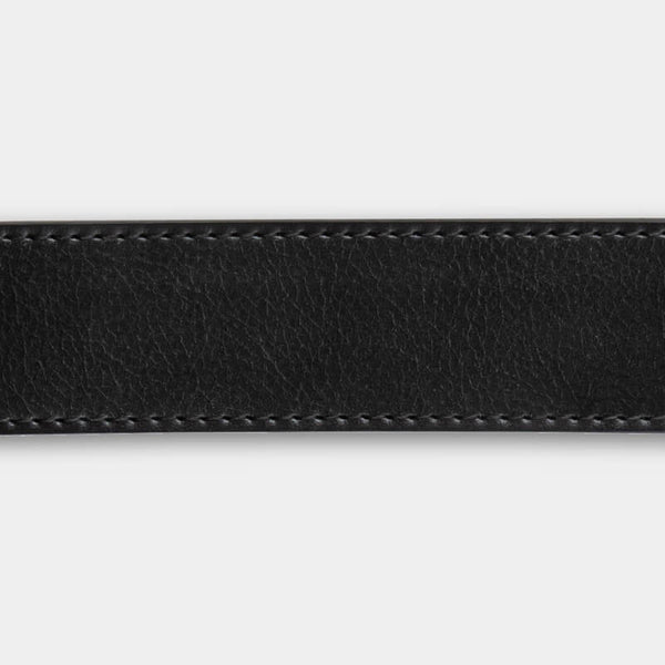 Black Full Grain Leather Strap - Minimum Co.