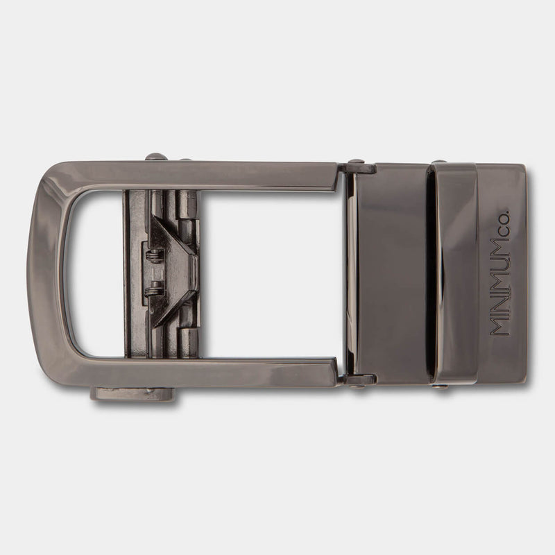 Gunmetal Buckle - Minimum Co.