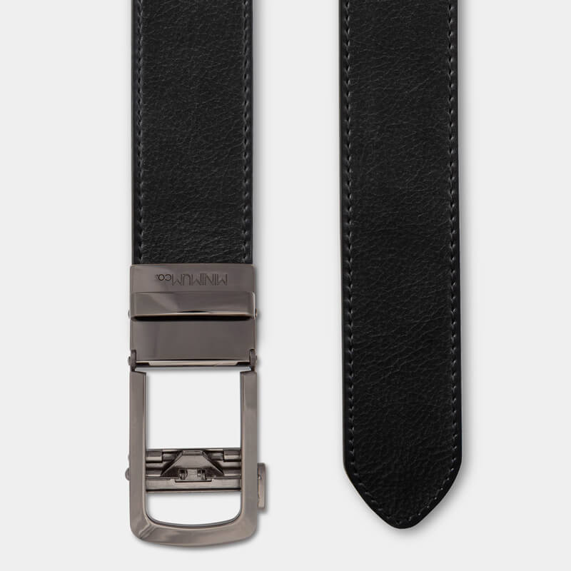 Gunmetal | Full Grain Leather - Minimum Co.