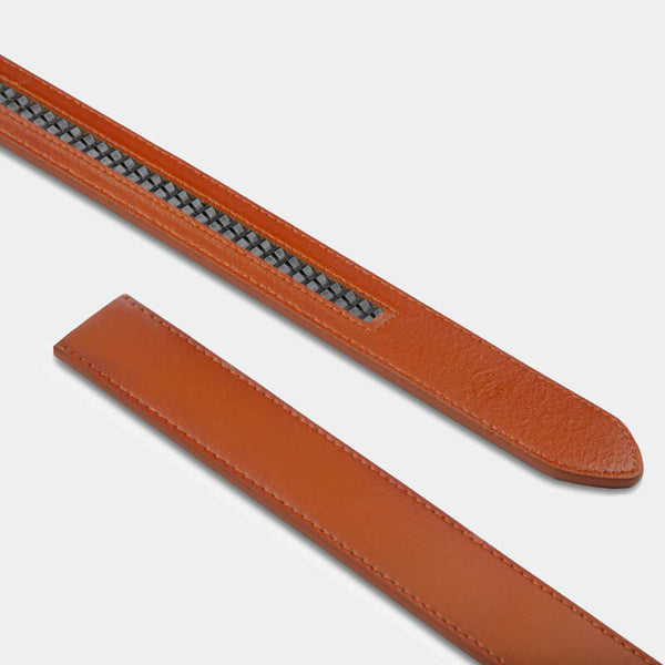 Tan Genuine Leather Strap - Minimum Co.