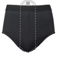 Zorbies Men's Incontinence Underwear PocketWear - pocket to hold a disposable incontinence pad