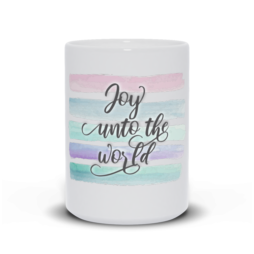 Joy Unto The World Mugs product shot