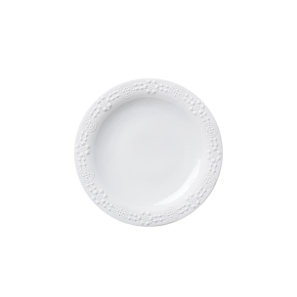 Porcelain white side plate
