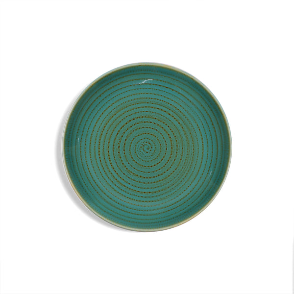 Hand Brushed Side Plate - 4 Pcs