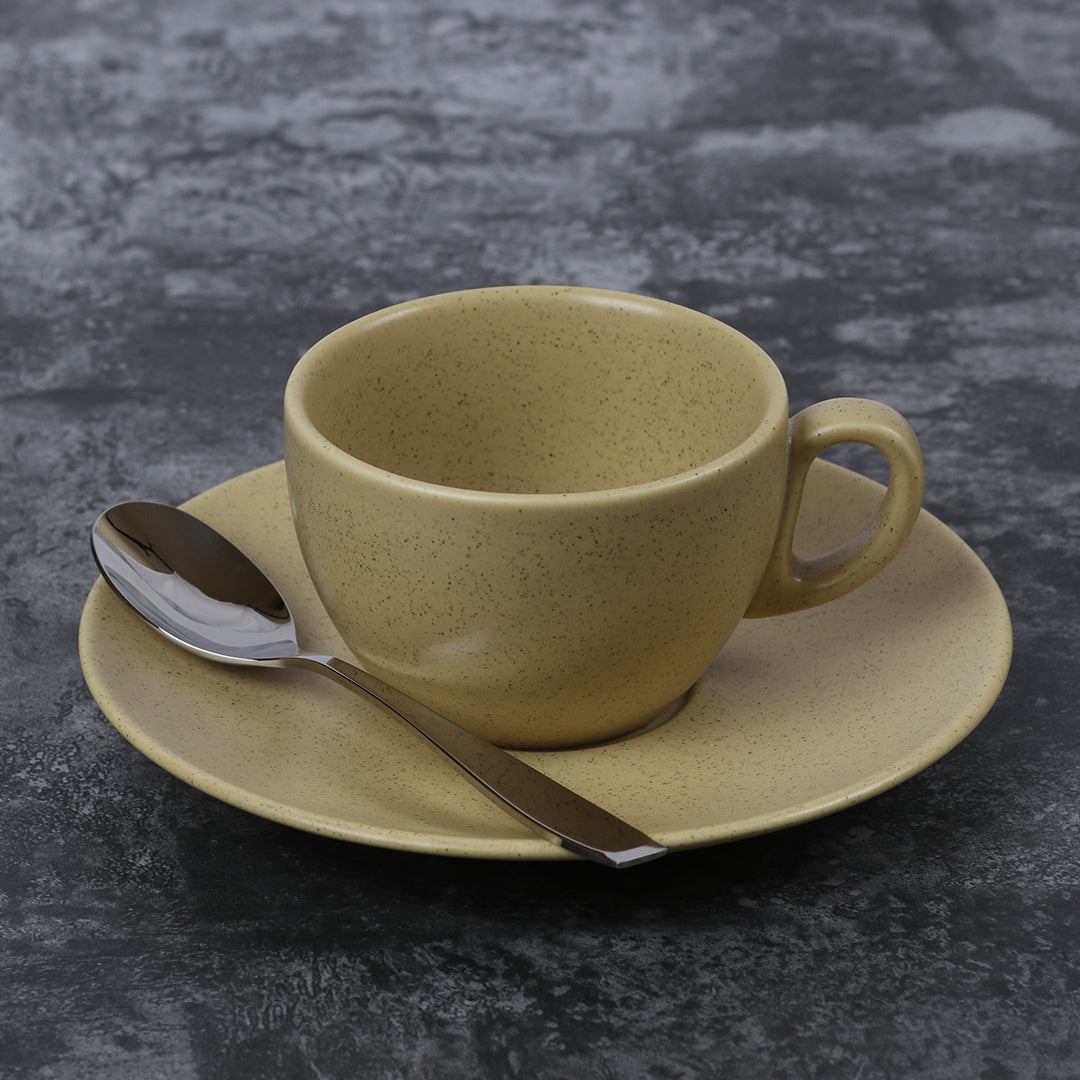 12 Pcs Cup & Saucer. Preorder 30 days for delivery.