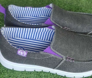 Summer breathable canvas shoes