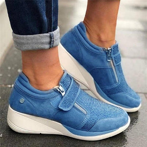 2020 New Flock high heel casual Women Sneakers