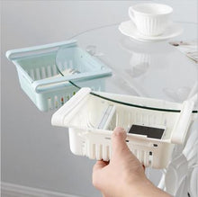 Load image into Gallery viewer, Refrigerator plastic storage basket