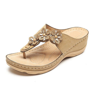 Flower Clip Toe Beach Sandals(50% off today)