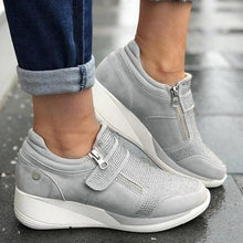 Load image into Gallery viewer, 2020 New Flock high heel casual Women Sneakers