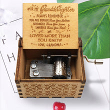 Load image into Gallery viewer, Best Gift-Engraved Music Box - BUY 2 FREE SHIPPING