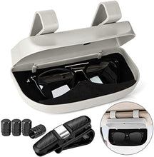 Load image into Gallery viewer, Magnetic Adsorb Clip Car Sunglasses Case(Buy 2 free shipping)