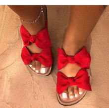 Load image into Gallery viewer, 2012 new bow sandals