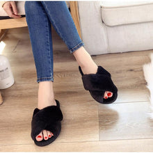 Load image into Gallery viewer, Fashion Fluffy Home Slippers