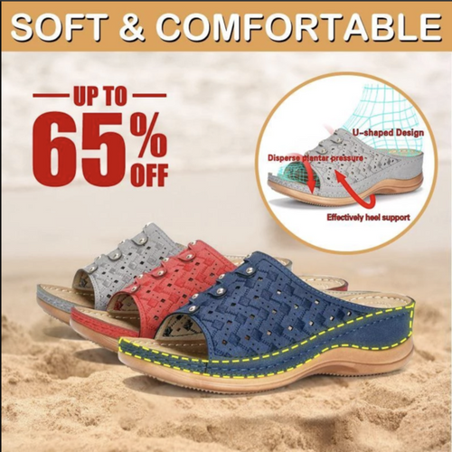 【BEST SALES!! - 50% OFF LIMITED TIME】Premium Orthopedic Toe Sandal