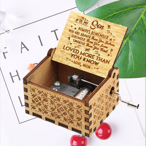 Best Gift-Engraved Music Box - BUY 2 FREE SHIPPING