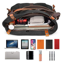 Load image into Gallery viewer, TTF™ Canvas 2 In 1 Backpack-Shoulder Bag with Extra Large Capacity Komize