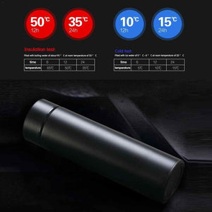 Smart LED Temperature Measuring Thermos - 500ML