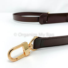 Load image into Gallery viewer, Dark Brown Leather Strap - Adjustable (25mm)