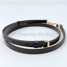 Load image into Gallery viewer, Dark Brown Leather Strap - Adjustable (11mm)