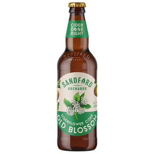 Sandford Orchards Old Blossom Elderflower Cider 500ml Bottle