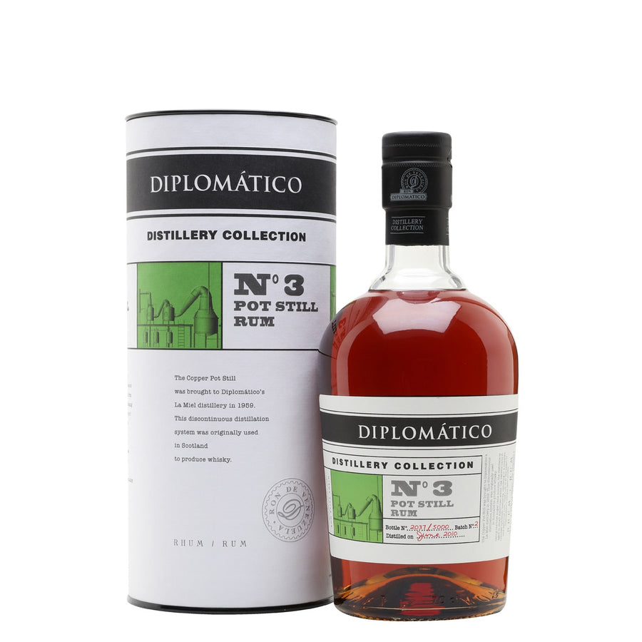 Diplomatico No.3 Pot Still Rum Distillery Collection