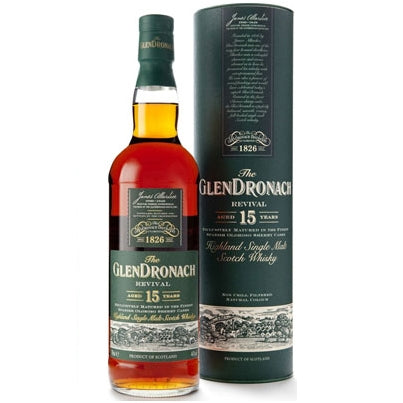 The GlenDronach 15yo