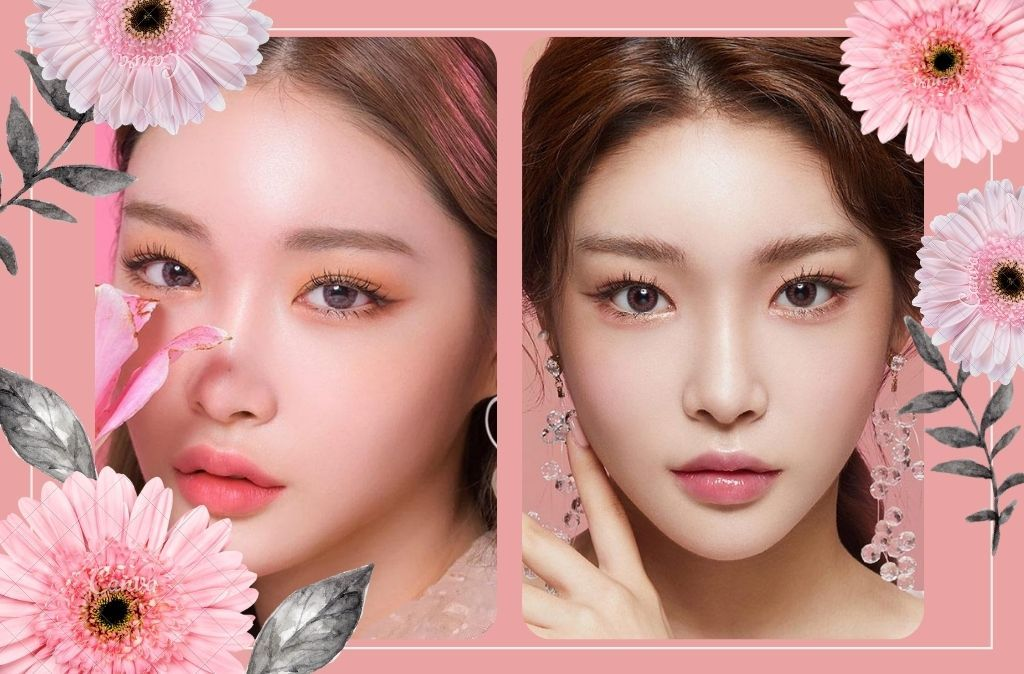Chung Ha's contacts series | eotd